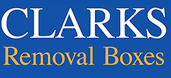 Clarks Removal Boxes Logo